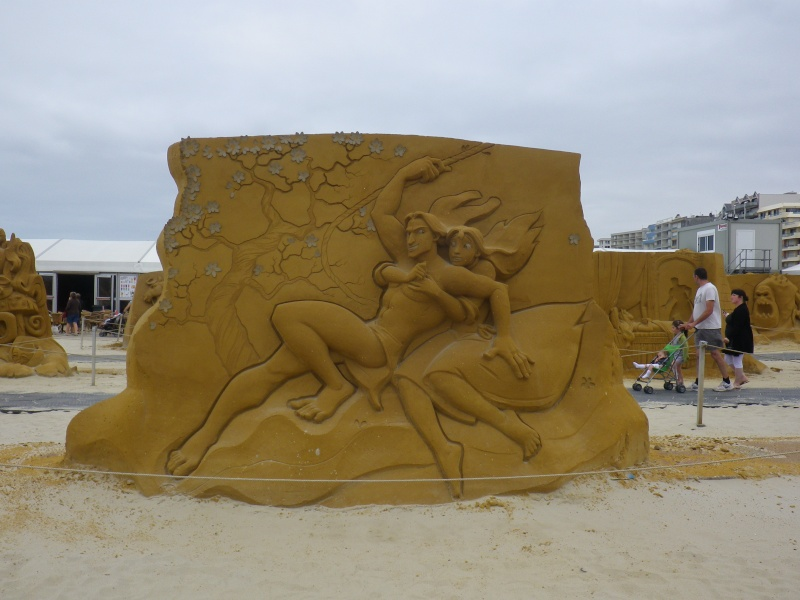 """""""Frozen Summer Fun""""  Le nouveau Festival de Sculptures de sable  du 13 juin au 6 septembre 2015 ... Imgp4349"""