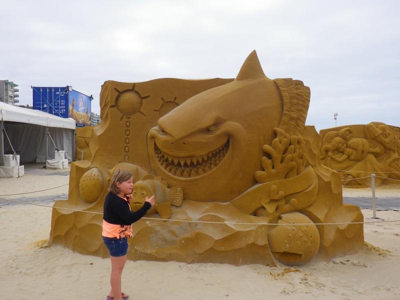 """""""Frozen Summer Fun""""  Le nouveau Festival de Sculptures de sable  du 13 juin au 6 septembre 2015 ... Imgp4354"""