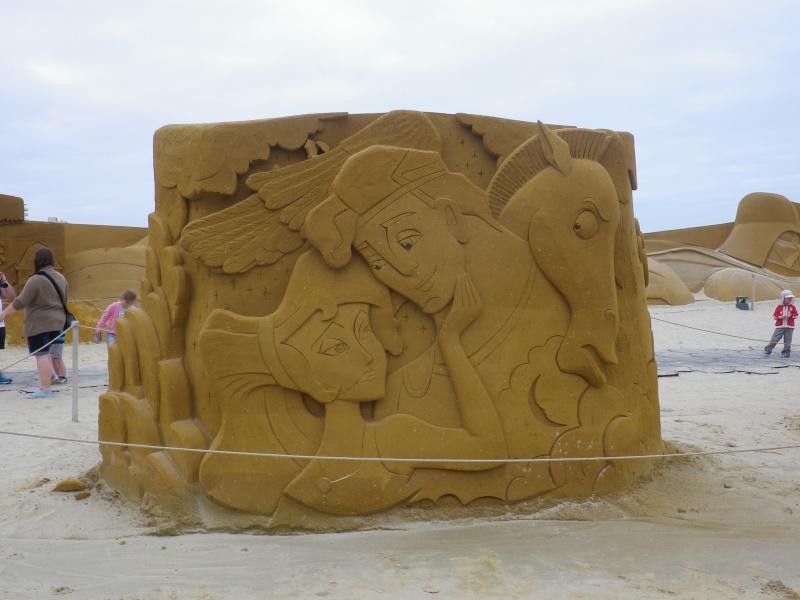"""""""Frozen Summer Fun""""  Le nouveau Festival de Sculptures de sable  du 13 juin au 6 septembre 2015 ... Imgp4355"""