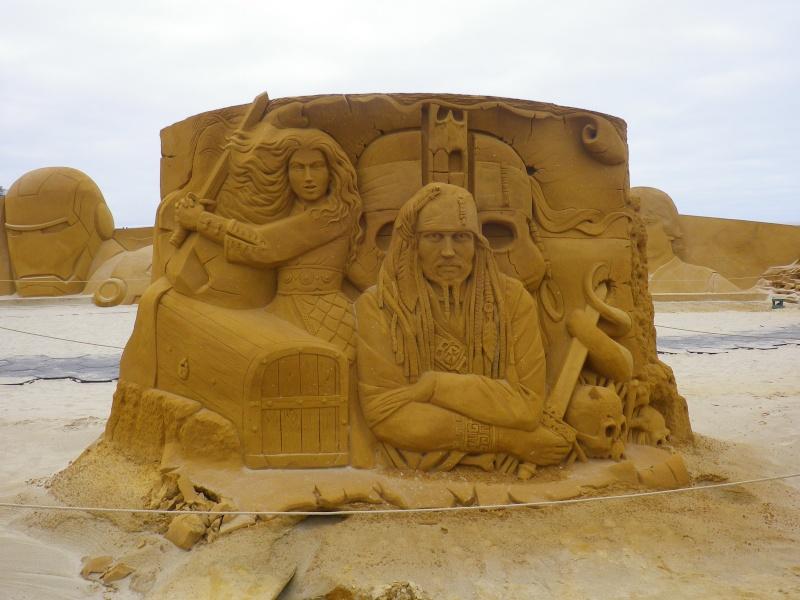 """""""Frozen Summer Fun""""  Le nouveau Festival de Sculptures de sable  du 13 juin au 6 septembre 2015 ... Imgp4359"""
