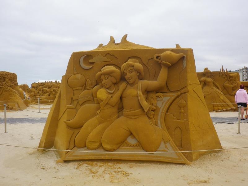 """""""Frozen Summer Fun""""  Le nouveau Festival de Sculptures de sable  du 13 juin au 6 septembre 2015 ... Imgp4360"""