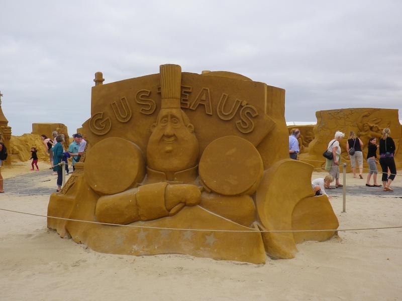 """""""Frozen Summer Fun""""  Le nouveau Festival de Sculptures de sable  du 13 juin au 6 septembre 2015 ... Imgp4361"""