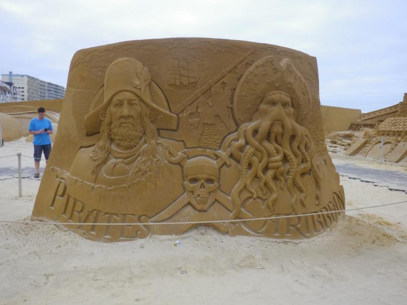 """""""Frozen Summer Fun""""  Le nouveau Festival de Sculptures de sable  du 13 juin au 6 septembre 2015 ... Imgp4362"""