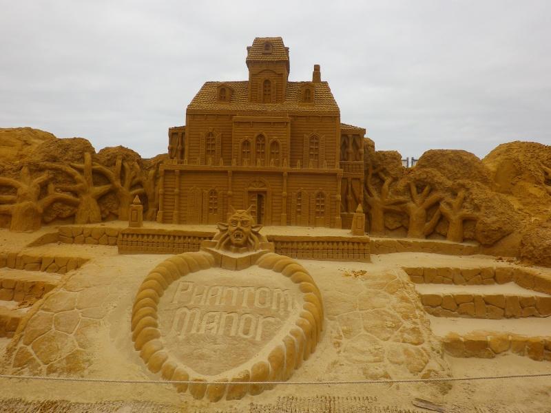 """""""Frozen Summer Fun""""  Le nouveau Festival de Sculptures de sable  du 13 juin au 6 septembre 2015 ... Imgp4364"""