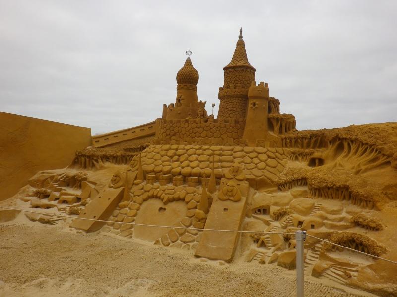 """""""Frozen Summer Fun""""  Le nouveau Festival de Sculptures de sable  du 13 juin au 6 septembre 2015 ... Imgp4365"""