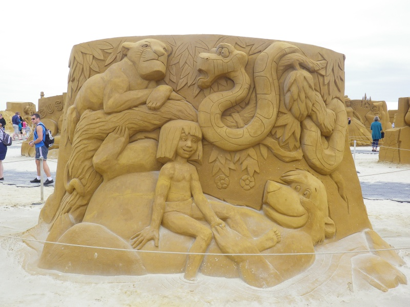 """""""Frozen Summer Fun""""  Le nouveau Festival de Sculptures de sable  du 13 juin au 6 septembre 2015 ... Imgp4369"""