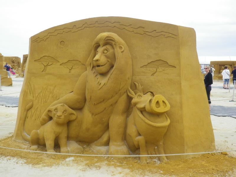 """""""Frozen Summer Fun""""  Le nouveau Festival de Sculptures de sable  du 13 juin au 6 septembre 2015 ... Imgp4370"""