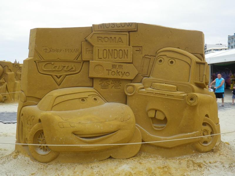 """""""Frozen Summer Fun""""  Le nouveau Festival de Sculptures de sable  du 13 juin au 6 septembre 2015 ... Imgp4371"""