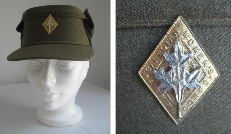 Uniforme féminin du corps de l'armée canadienne CWAC's et battle dress Img_6411
