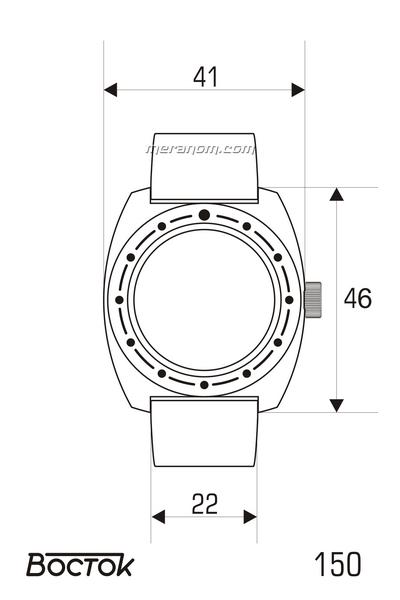 Amphibia - Dimensions des boitiers et entrecornes  Vostok10