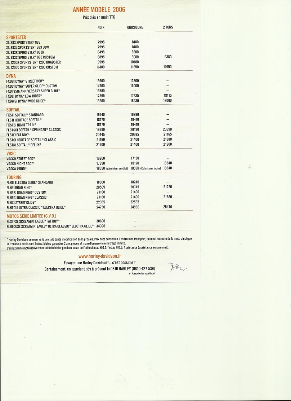 Electra Glide Standard, le retour ! - Page 3 Liste_11