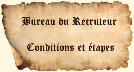 [À lire en premier] Conditions et étapes du recrutement Irréel. Condet10