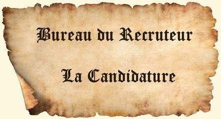 Contenu de la candidature pour le Cursus Honorum Lacand10