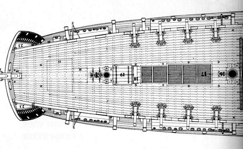 Fregate H.M.S Surprise au 1/48 de A.L - Page 4 Img08510
