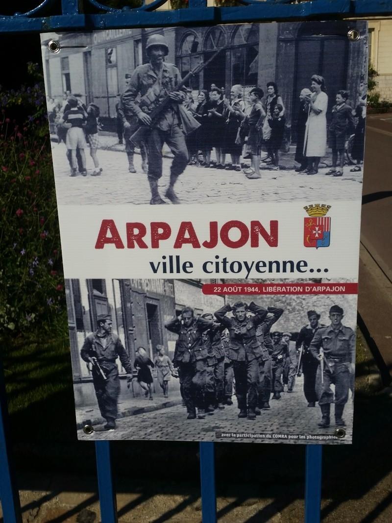 Borne du serment de Koufra: ARPAJON (91) 20150820