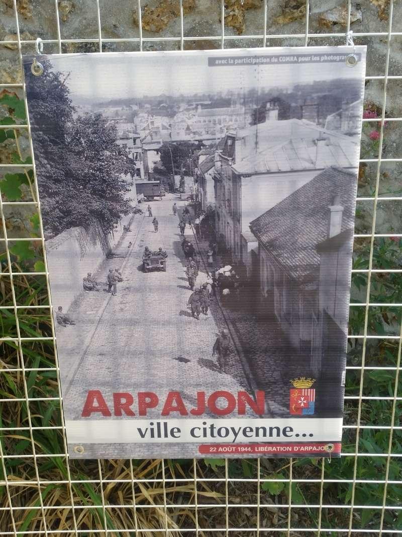 Borne du serment de Koufra: ARPAJON (91) 20150823