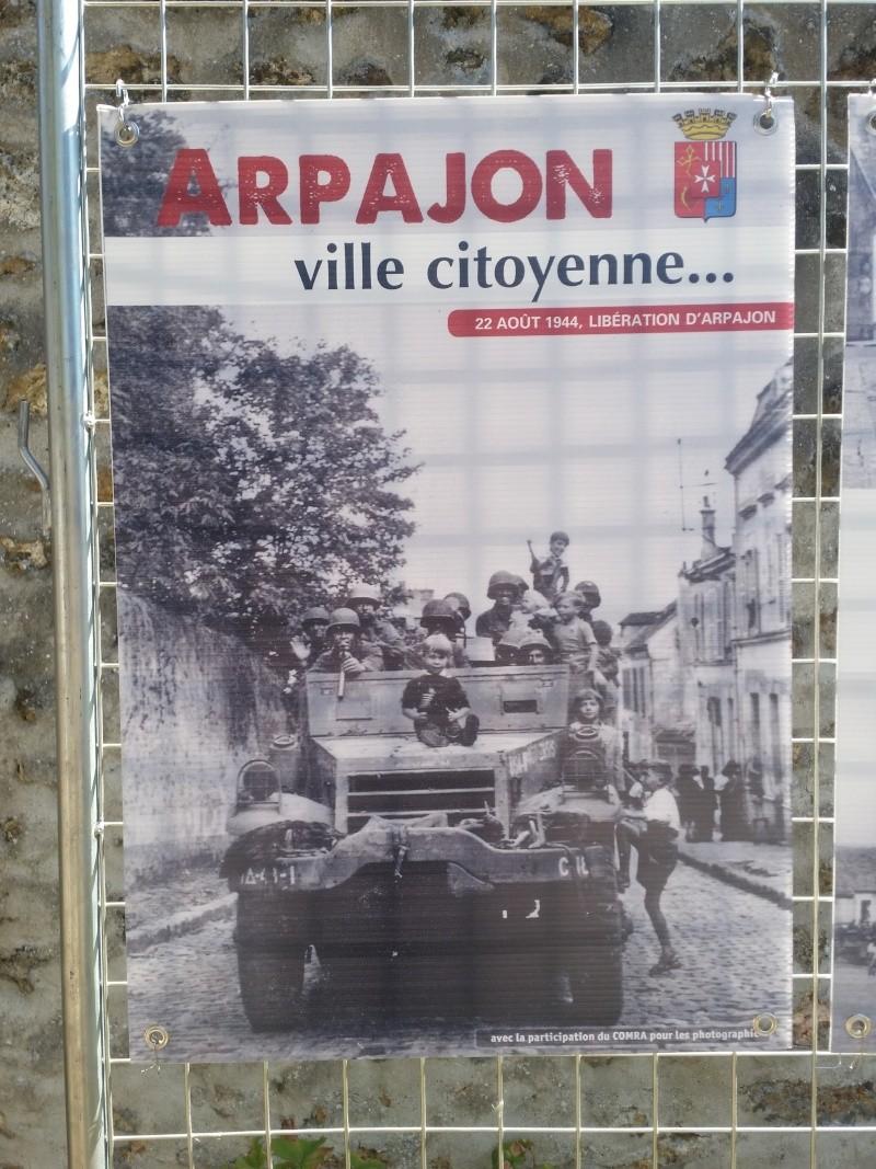 Borne du serment de Koufra: ARPAJON (91) 20150824