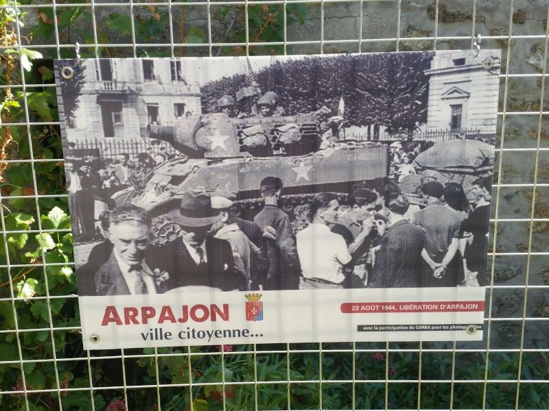 Borne du serment de Koufra: ARPAJON (91) 20150827