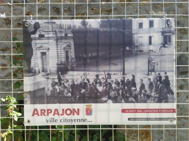 Borne du serment de Koufra: ARPAJON (91) 20150828