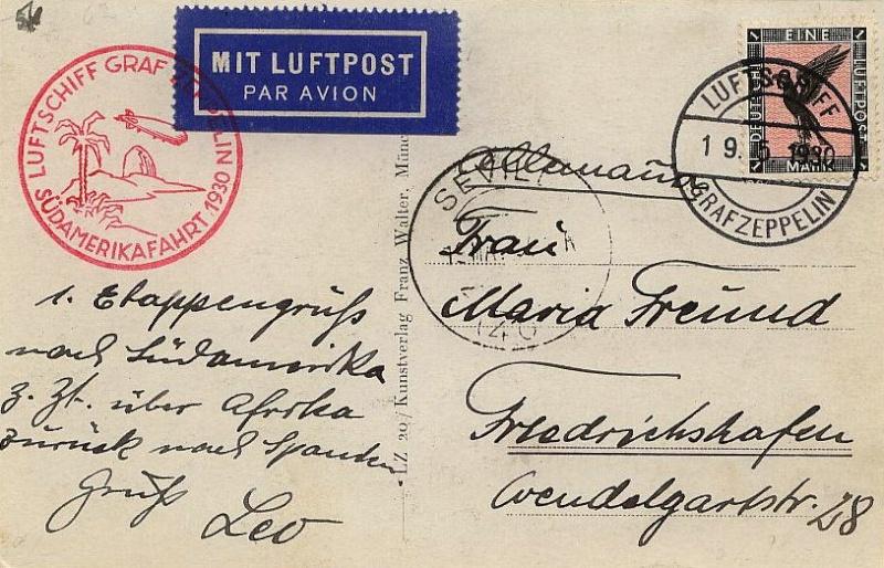 Zeppelinpost der Besatzung 57_a_f10