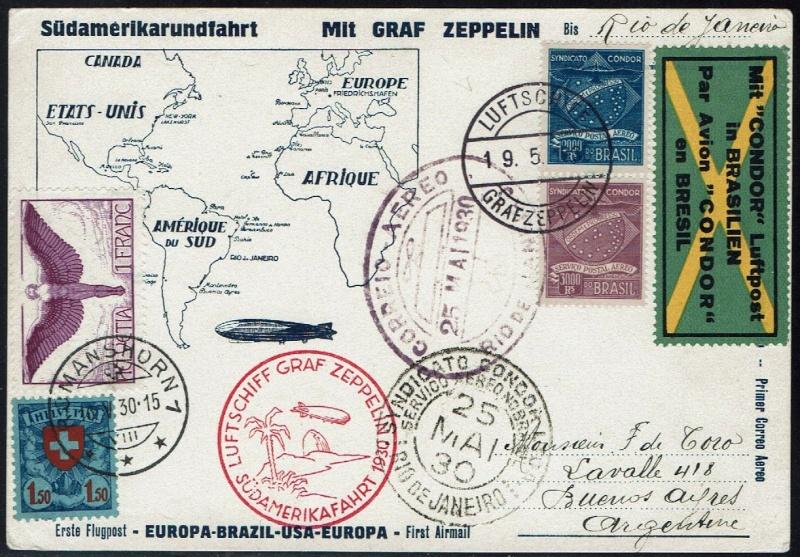 nach - Südamerikafahrt 1930, Post nach Rio de Janeiro - Seite 2 57_ee_12