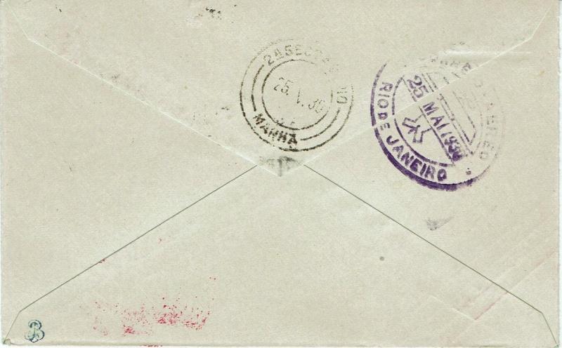 nach - Südamerikafahrt 1930, Post nach Rio de Janeiro - Seite 2 57_m_d11