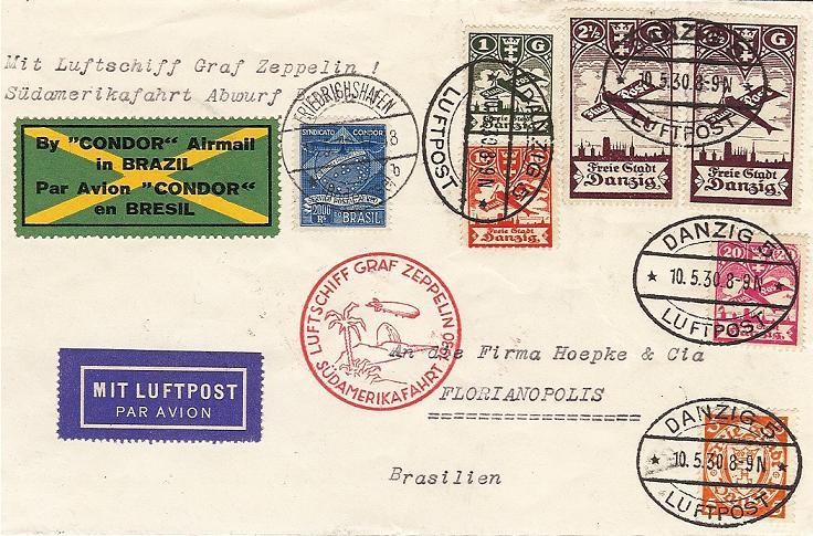 Südamerikafahrt 1930, Post nach Rio de Janeiro - Seite 2 57_mm_14