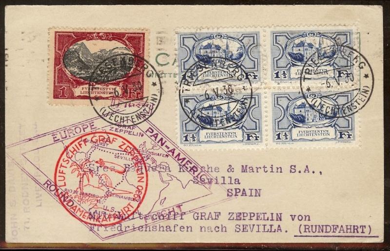 nach - Südamerikafahrt 1930, Post nach Sevilla - Seite 2 57_o_l11