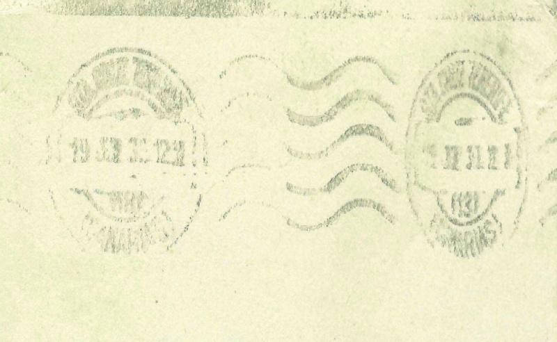 nach - Südamerikafahrt 1930, Post nach Praia (Kapverdische Inseln) 57_q_s10