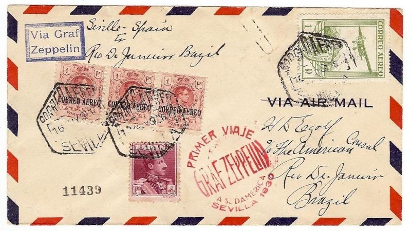 nach - Südamerikafahrt 1930, Post nach Sevilla - Seite 2 58_ad_10