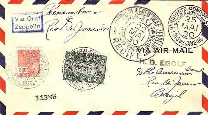 nach - Südamerikafahrt 1930, Post nach Sevilla - Seite 2 59_a_r10