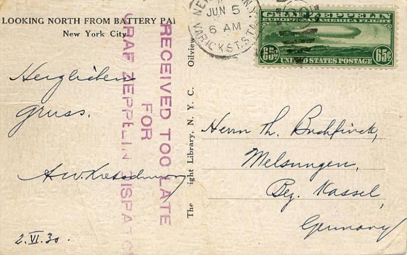 """Südamerikafahrt 1930 (Rundfahrt-) Post nach Friedrichshafen"""" - Seite 5 64_f_t10"""
