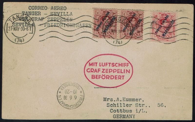 """Südamerikafahrt 1930 (Rundfahrt-) Post nach Friedrichshafen"""" - Seite 5 64_xvi10"""