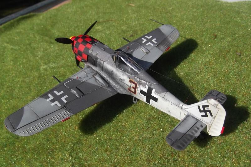 """Zvezda Focke Wulf 190 A4 """"FINIT"""" Dscf1110"""
