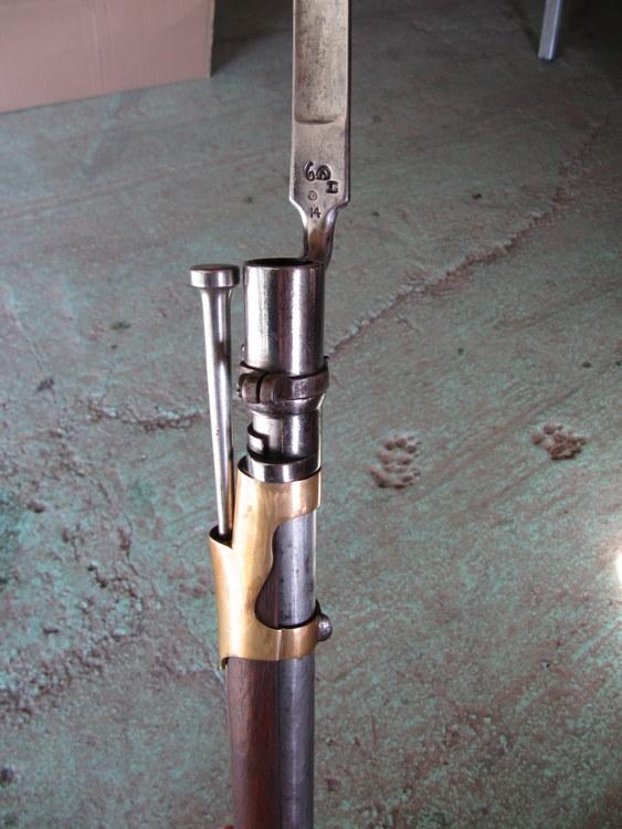 un fusil 1822 T de St Étienne à garnitures laiton  11-img12