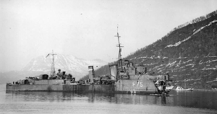 ROYAL NAVY  DESTROYERS DE LA CLASSE TRIBAL 1935-1949 Eskimo14