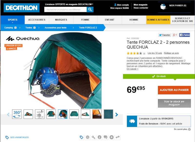 Equipement camping pour 2 roues et 3roues Image128