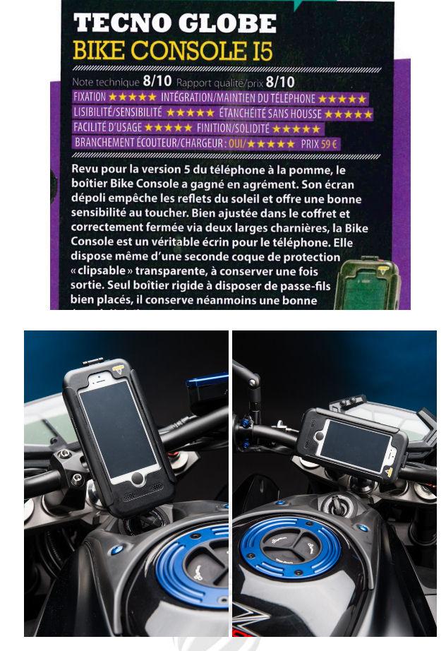 Ensemble boitier support pour Smartphone Apple Techno-globe Image311