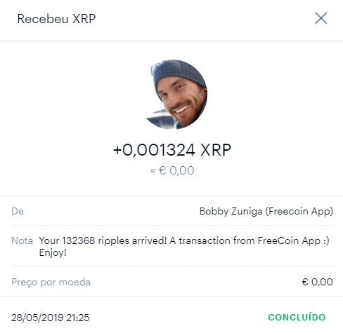 Oportunidade [Provado] Ganhe XLM, XRP, LTC - APPs FreeCoin   510