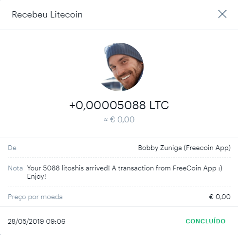 Oportunidade [Provado] Ganhe XLM, XRP, LTC - APPs FreeCoin   610
