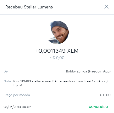 Oportunidade [Provado] Ganhe XLM, XRP, LTC - APPs FreeCoin   710