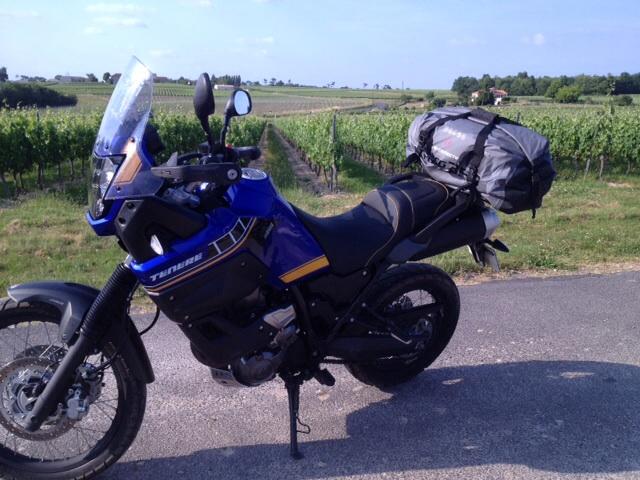 Porte bagage Hepco & Becker et sac SW-Motech Drybag Image12