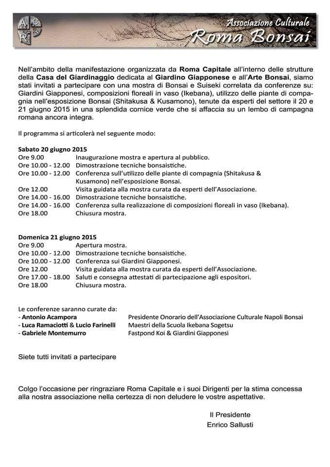 Forum Bonsai Romano - Benvenuti Progra10