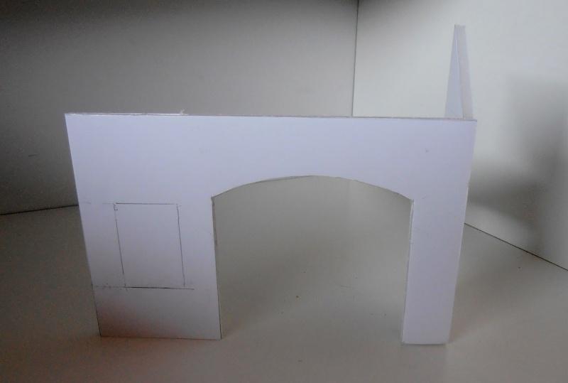 Mes ptites réalisations de pierres et de briques ( lièges, cartons plume au 1/35ème ). P6071010