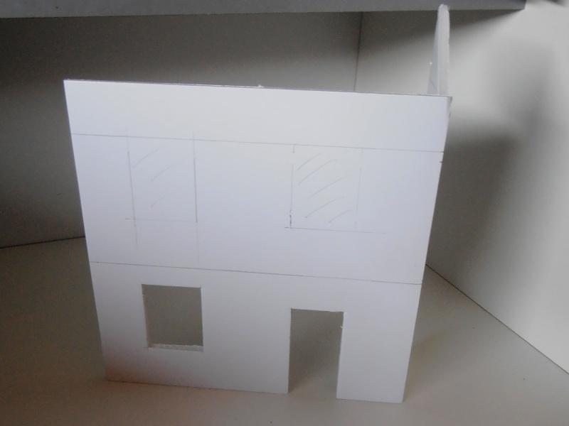 Mes ptites réalisations de pierres et de briques ( lièges, cartons plume au 1/35ème ). P6071013