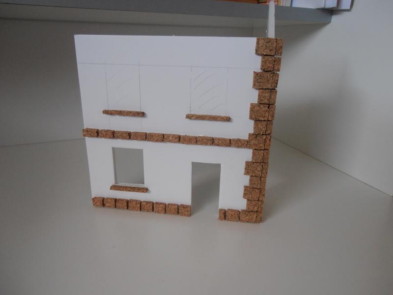 Mes ptites réalisations de pierres et de briques ( lièges, cartons plume au 1/35ème ). - Page 3 P6261111