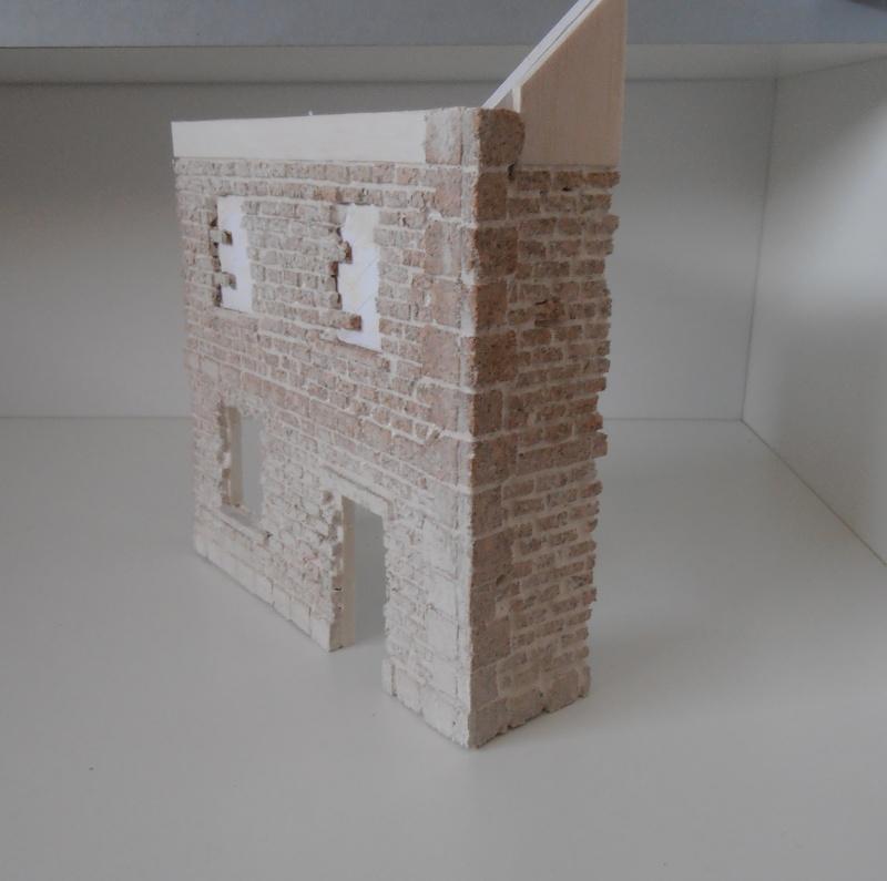 Mes ptites réalisations de pierres et de briques ( lièges, cartons plume au 1/35ème ). - Page 4 P6291127