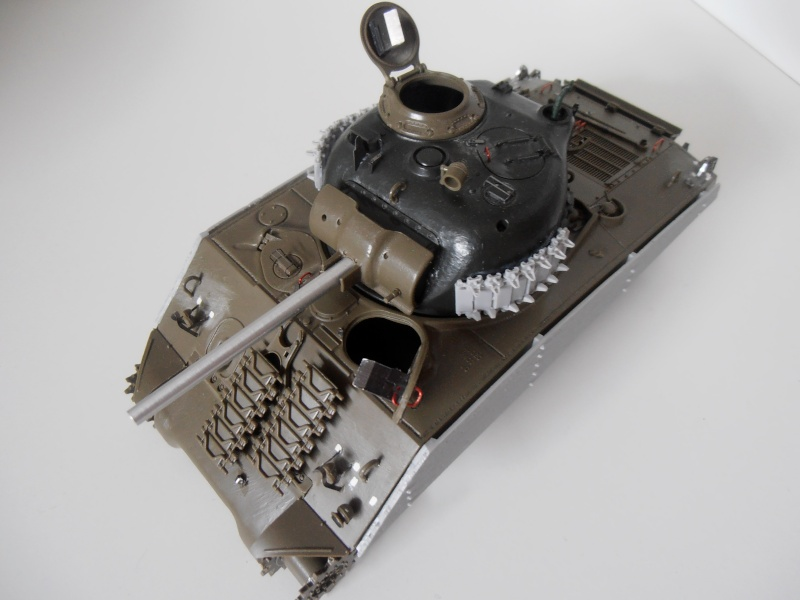 "Sherman M4A3 "" made in Pacifique "" ( Tamiya, Eduard, Neo Models au 1/35eme ) - Page 2 P7061112"
