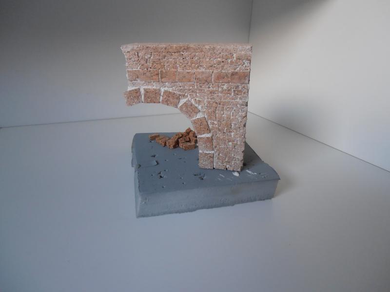 Mes ptites réalisations de pierres et de briques ( lièges, cartons plume au 1/35ème ). - Page 5 P7121212