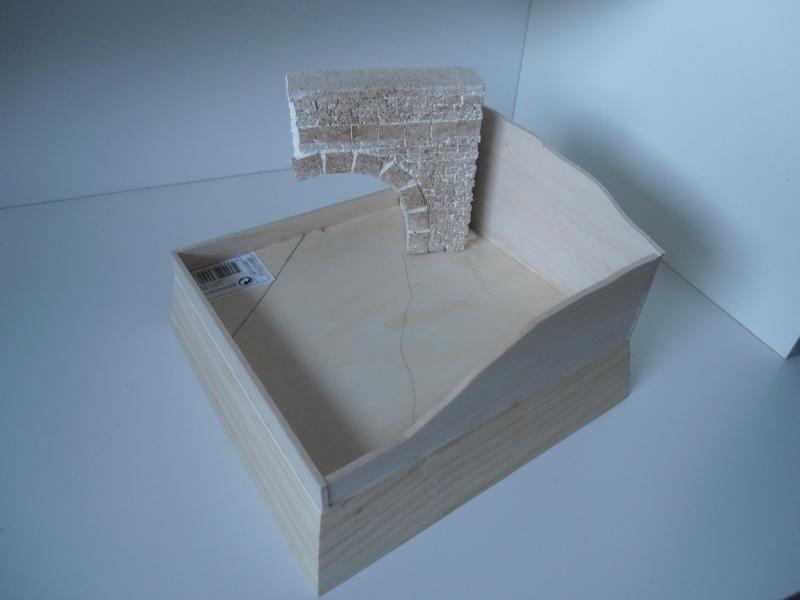 Mes ptites réalisations de pierres et de briques ( lièges, cartons plume au 1/35ème ). - Page 5 P7141214